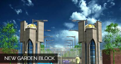 new garden block new